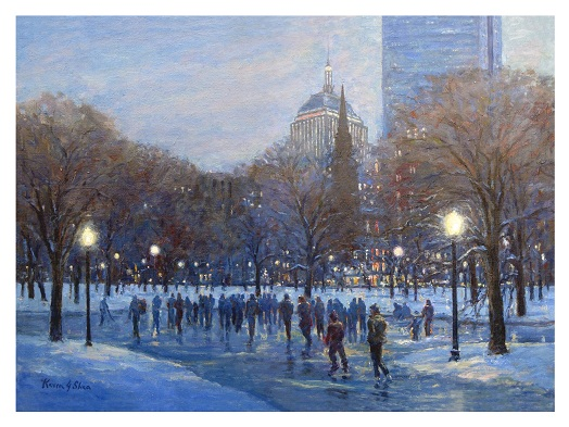 kevinsheafineart.com Limited Editions of Boston Page